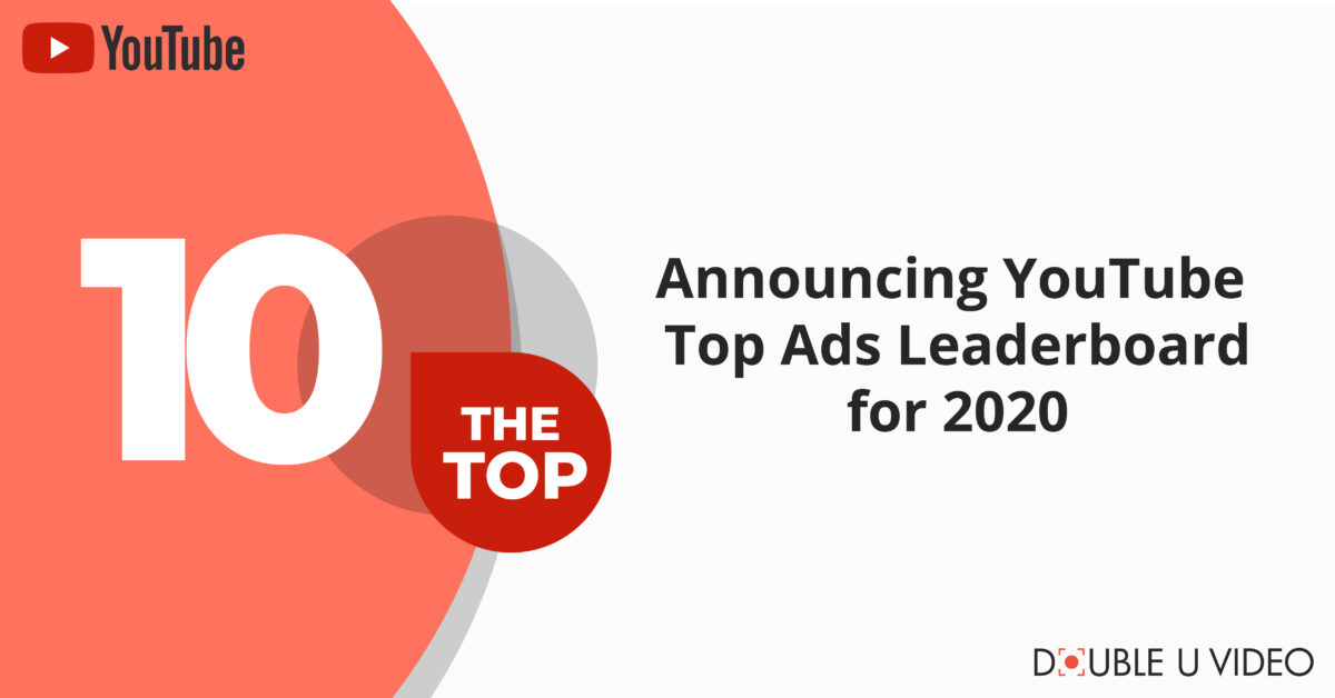 Announcing YouTube Top Ads Leaderboard for 2020