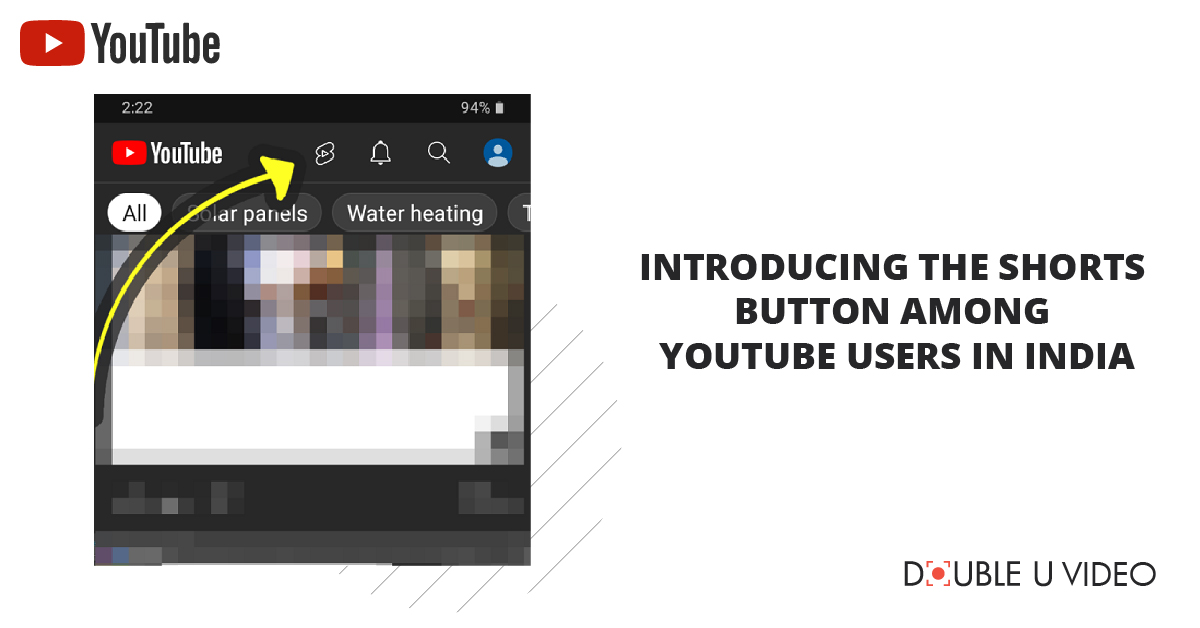 Introducing the Shorts Button Among YouTube Users in India