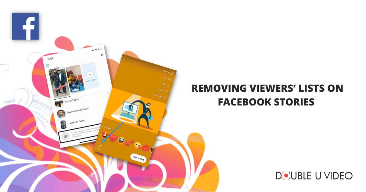 Removing Viewers' Lists on Facebook Stories