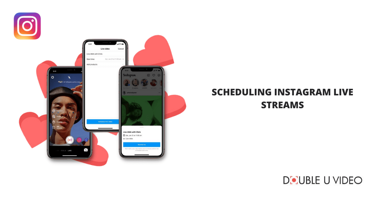 Scheduling Instagram Live Streams